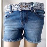 Shorts De Jeans Para Niñas Talla 4,5,6,6x (7)