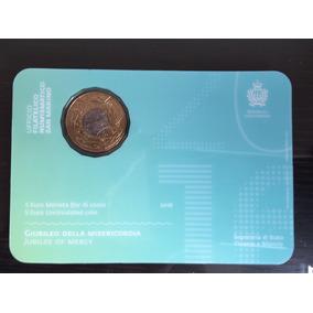 Moeda 5 Euros Fc San Marino Jubileu Da Misericórdia 2016