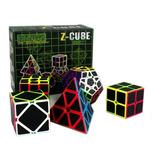 Pack Set De 5 Cubos Fibra Carbono Z-cube