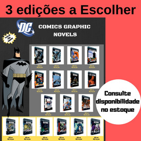 Combo Com 3 Edições Dc Comics Graphic Novels A Escolher