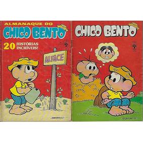 1985/1986 - 2 Hq Quadrinhos Almanaque Chico Bento Abril