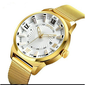 8153e01a37a Relogio Masculino Analogico Quartz Yazole 278 3atm. Piauí · Fashion Quartz  Gold Waterproof