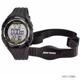 Relógio Masculino Mormaii Com Monitor Cardíaco Mo11558a