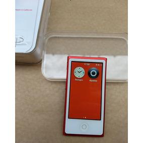 Ipod Nano Red 7 16gb Vermelho Caixa Usado Parcelado - Xf4lp