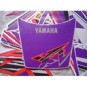 Kit Adesivos Yamaha Xt600 - 1997 - Roxa E Branca