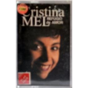 Fita K7 - Cristina Mel: Refúgio De Amor - Play-back