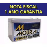Kit 8 Bateria Moura Vrla/selada 12v 7ah Nobreak-com Nf