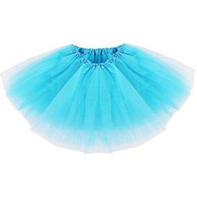 Blue - One Size - Moda Ropa Organza Tutu Ballet Petti-1537