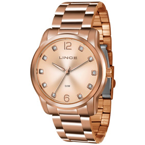 8612a00eea695 Relogio Lince Feminino Lrr4391l R2rx Rose Gold Analogico