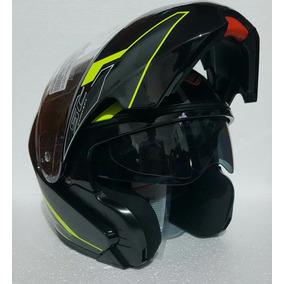 Casco Abatible Faseed Fs-901 Con Gafas Concept Rider One