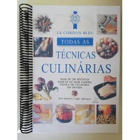 Le Cordon Bleu Técnicas Culinárias 353 Pg Impressa Colorida