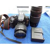 Kid Canon T6 Lente 18-55 Y 75-300
