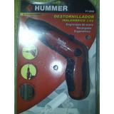 Destornillador Inalambrico Electrico Marca Hummer