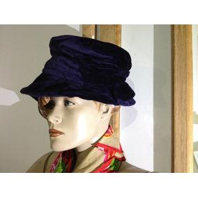b588f2f7d93f2 Chepéu Boina De Veludo Europeu Feminino Hat Company (lindo)