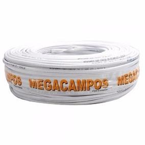 Cabo Flexivel 2,5 Mm Branco 100 Mts Megacampos