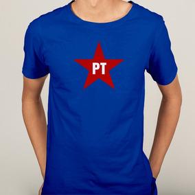9373bdf1e4 Camisa Pt Partido Dos Trabalhadores Esquerda - 6 Cores · 6 cores. R  39