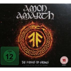 Amon Amarth - The Pursuit Of Vikings Dvds+cd P/entrega