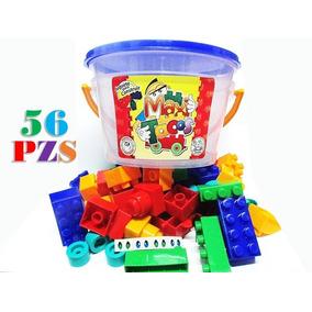 Tobo Grande 56 Legos Maxi Tacos Juego Didáctico Juguete