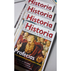 Kit 4 Revistas De História Da Biblioteca Nacional + Brinde!