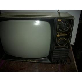Televisao Antiga /preto Branco /brasonik