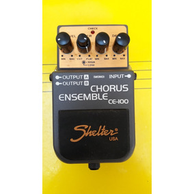 Pedal Shelter Chorus Essemble Ce-100