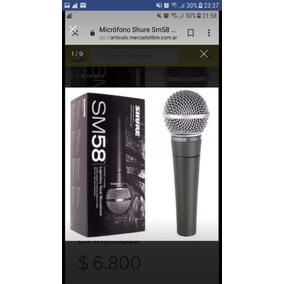 Microfono Shure Sm58 (original)