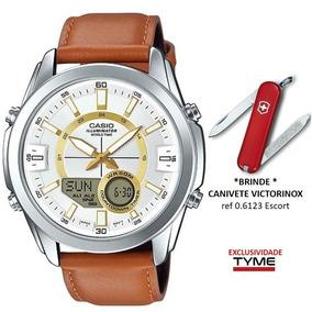 57e2ab240b7 Relogio Casio Amw Masculino Fundo Branco - Relógios De Pulso no ...