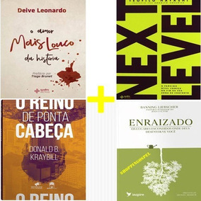 Livro Enraizado + Reino De Ponta Cabeça + Next Level E Mais