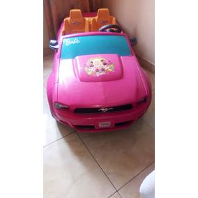 Carro Barbie A Bateria Para Niña ( Bateria Dañada)