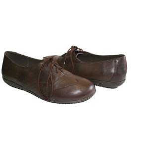 6a8449c8 Zapato Casual Cuero Dama - Zapatos Mujer De Vestir y Casuales en ...