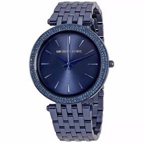 Relógio Pa7965 Michael Kors Darci Mk3417 Feminino Azul + Cxa 9c4eb4e07a