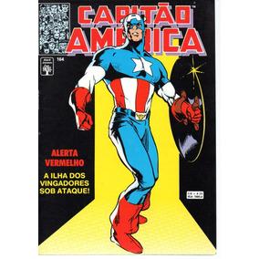 Lote Capitao America 161 Ao 170 - Abril Bonellihq Cx465 B19