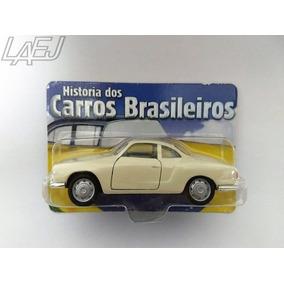 Miniatura Karmann Ghia - Hist. Dos Carros Brasileiros