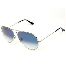 699efdfa26dab Ray Ban Azul Claro Espelhado De Sol Aviator - Óculos no Mercado ...