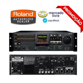 Gravador E Reprodutor De Áudio Roland De 48 Pistas R-1000.