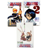 Bleach Manga Tomos 1 Al 3 Panini Original Nuevo Español Lat