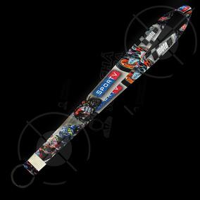 Cordão Personalizado Tema Moto Gp 02 - Argola Preta