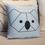 Forro Para Cojin Koala Origami 45 X 45 Cm