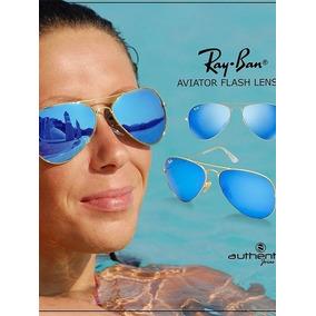 f01fbed210a14a Ray Ban  Aviador Modelo Medio Azul Cristal Baby   Orginal