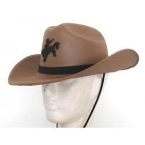 54b0a05a90bed Chapeu De Cowboy De Eva - Chapéus no Mercado Livre Brasil