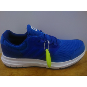Tenis adidas Galaxy 4 M Azul / Blanco Caballero