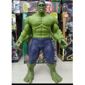Boneco Hulk 30 Cm Luz E Som Vingadores Avemgers Pronta Entre