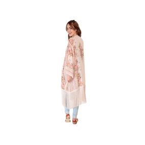 Kimono Thats It Rosa Con Flecos Floral No