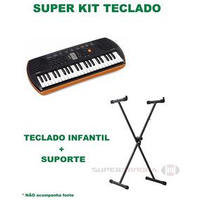 325c5b33698 Fonte Para Teclado Casio Sa 76 - Teclados no Mercado Livre Brasil