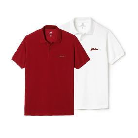 Kit 2 Camisas Pólo Jhonlon Original Varias Cores Qualidade 2f86ea21197d6