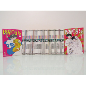 Mangá Ranma 1/2 Volumes 1 Ao 38 Coleção Completa