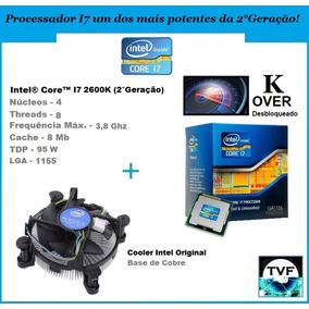 Processador Intel I7 2600k Over + Cooler Original (na Caixa)