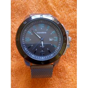 Relógio Mondaine Masculino Grande 50mm Lindo Novíssimo