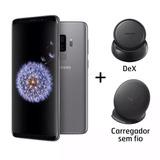 Samsung Galaxy S9+dex+carreg.128gb 6g+nf+frete+gar.=2.399,99
