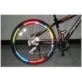 Fita Adesiva Reflexiva Para Bicicleta Bike Com 5 Cartelas